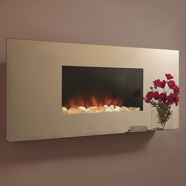 Celsi Accent Curved Electric Fire Richard James Fires