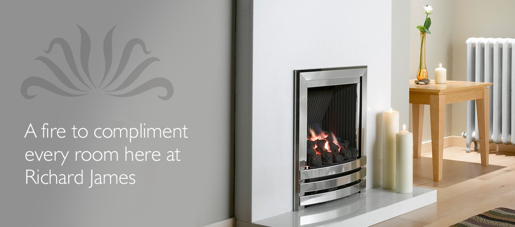 Gas Fires And Electric Fires From Our Birmingham Showroom